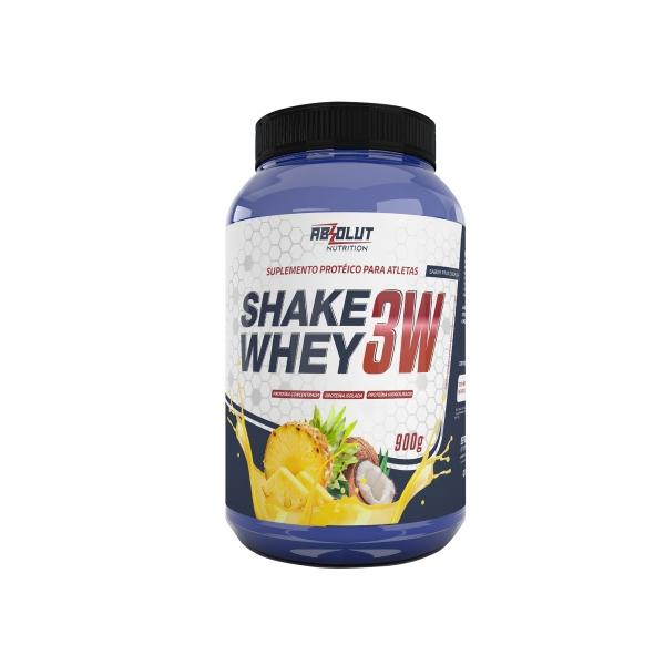 Shake Whey 3W - 900g - Absolut Nutrition