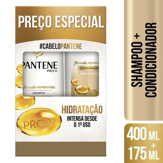 Shampoo 400ml + Condicionador 175ml Pantene Hidratação