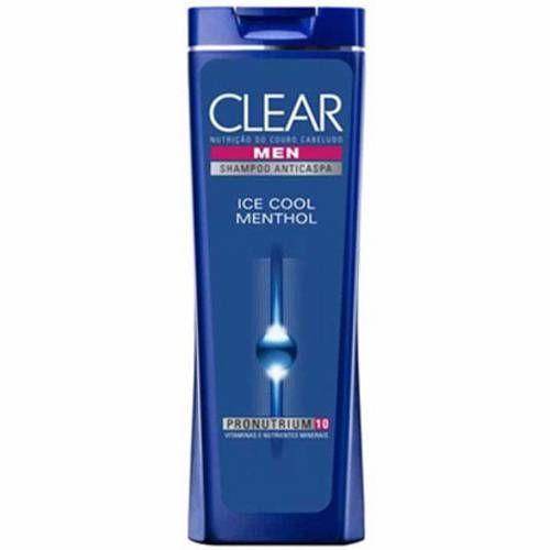 Shampoo Anti Caspa Clear Men Ice Cool Menthol 200ml