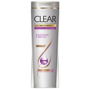 Shampoo Anti Caspa Clear Women Hidratação Intensiva 400Ml