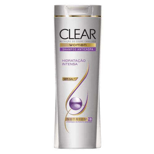 Shampoo Anticaspa Clear Hidratação Intensa 200 Ml