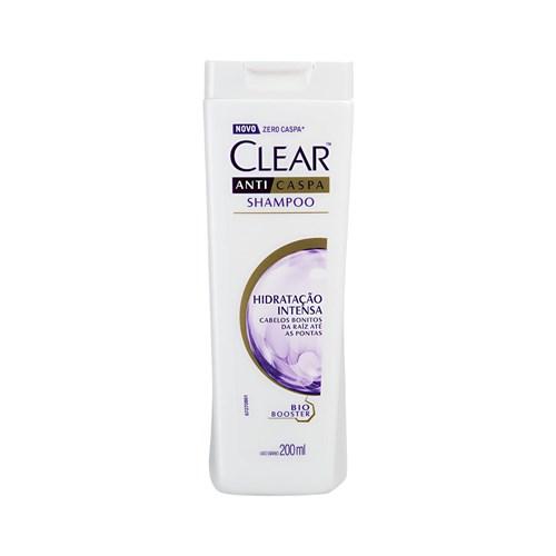 Shampoo Anticaspa Clear Hidratação Intensa 200Ml