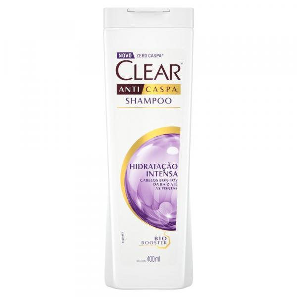 Shampoo Anticaspa Clear Hidratação Intensa 400ml