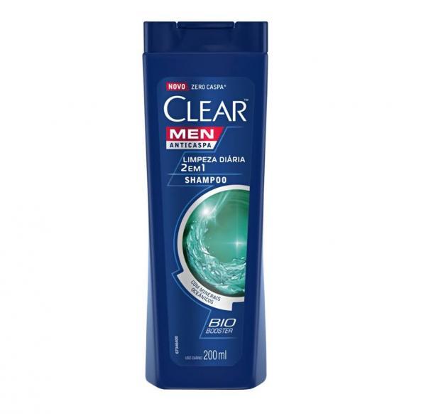 Shampoo Anticaspa Clear Limpeza Diária 2 em 1 400ml