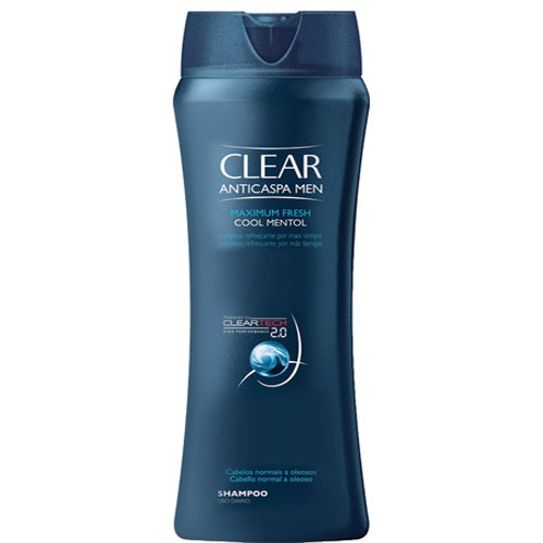 Shampoo Clear Max Fresh Cool Mentol 400ml
