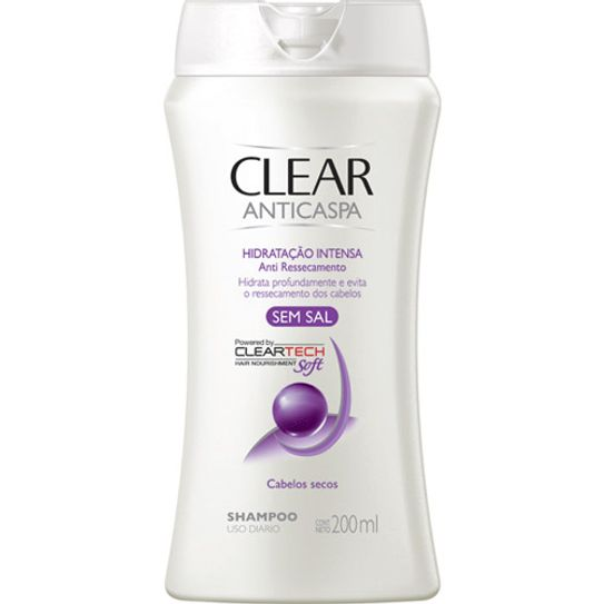 Shampoo Clear Hidratação Intensa 200 Ml
