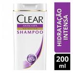 Shampoo Anticaspa Clear Women Hidratação Intensa 200ml