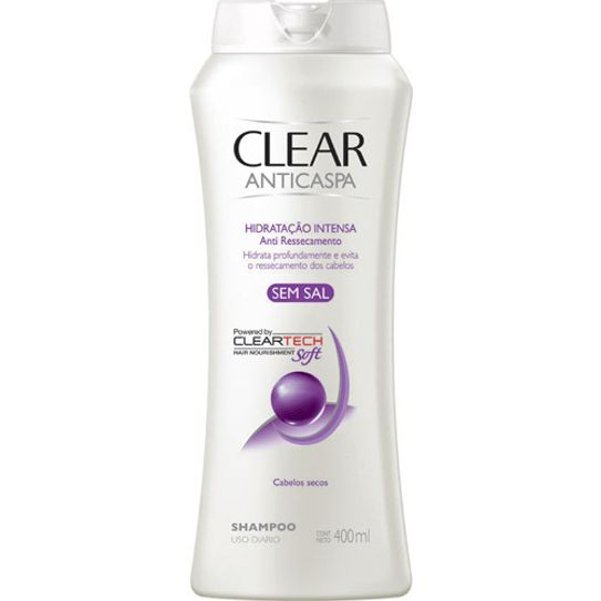 Shampoo Clear Hidratação Intensa 400 Ml