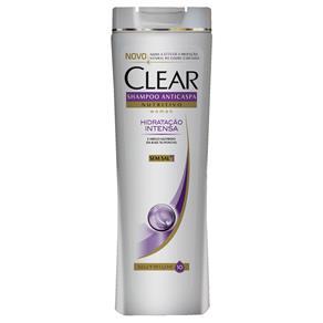Shampoo Anticaspa CLEAR Women Hidratação Intensa - 400ml