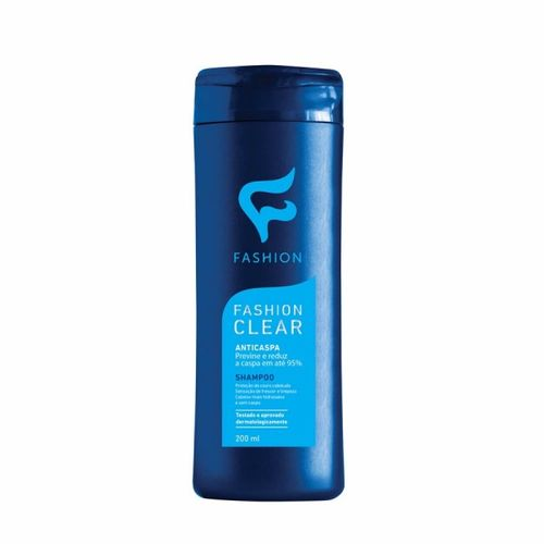 Shampoo Anticaspa Clear 200ml Fashion