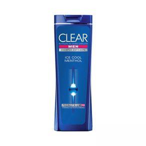 Shampoo Anticaspa Ice Cool Menthol Clear 200mL