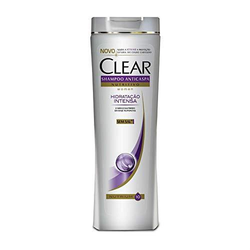 Shampoo Anticaspa Women Hidratação Intensa, Clear, 400 Ml