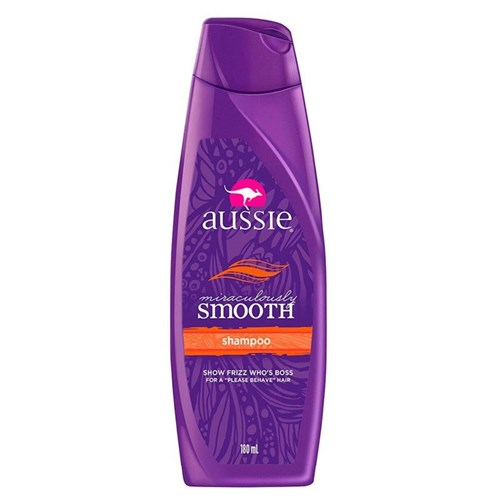 Shampoo Aussie Smooth Miraculously 180Ml