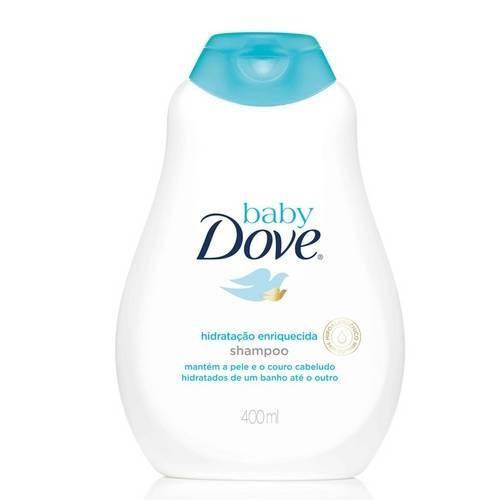 Shampoo Baby Dove Hidratação Enriquecida 400ml
