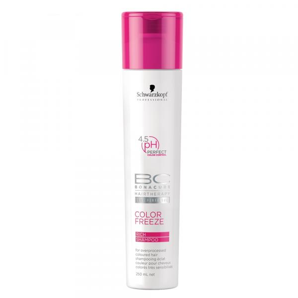 Shampoo BC Bonacure Color Freeze Rich Schwarzkopf 250ml - Schwarzkopf Professional