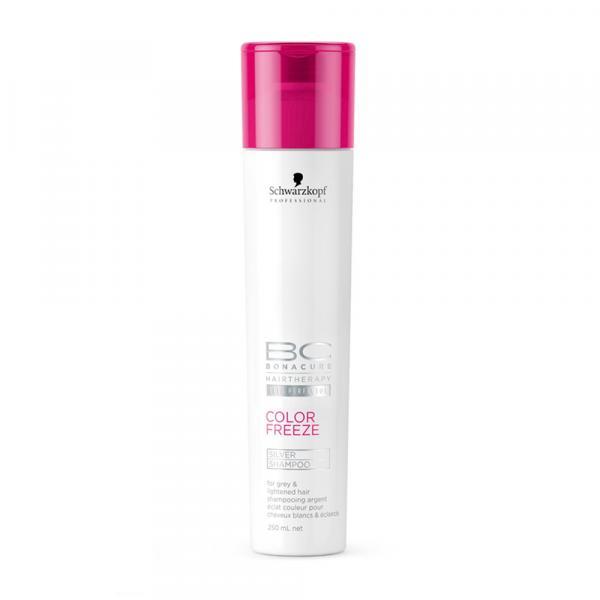 Shampoo BC Bonacure Color Freeze Silver Schwarzkopf 250ml - Schwarzkopf Professional