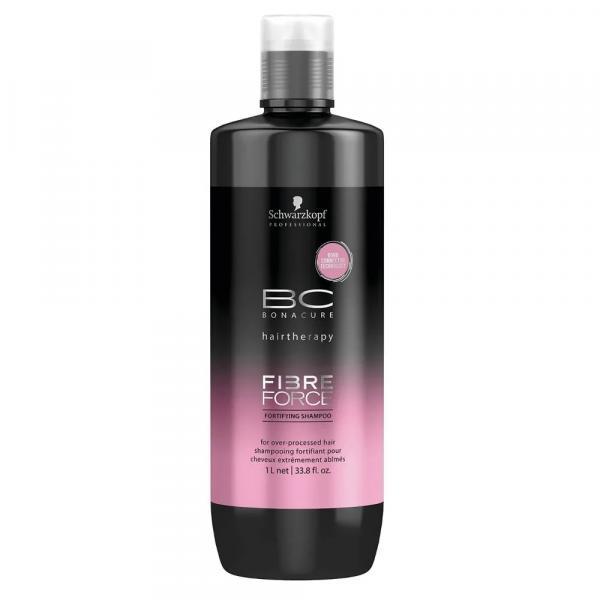 Shampoo BC Bonacure Fibre Force Fortifying Schwarzkopf 1L - Schwarzkopf Professional