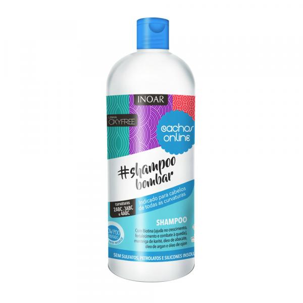 Shampoo Bombar Cachos Online 1L - Inoar