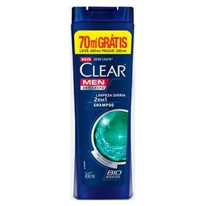 Shampoo Clear Anti-Caspa Limpeza Diária 2 em 1 - 400ml