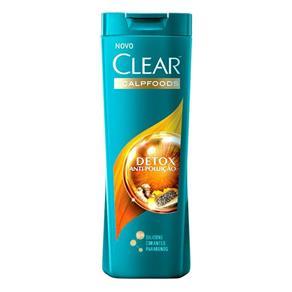 Shampoo Clear Anticaspa Detox Antipoluição - 200ml