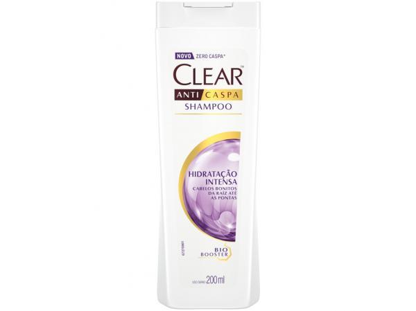 Shampoo Clear Anticaspa Hidratação Intensa - 200ml