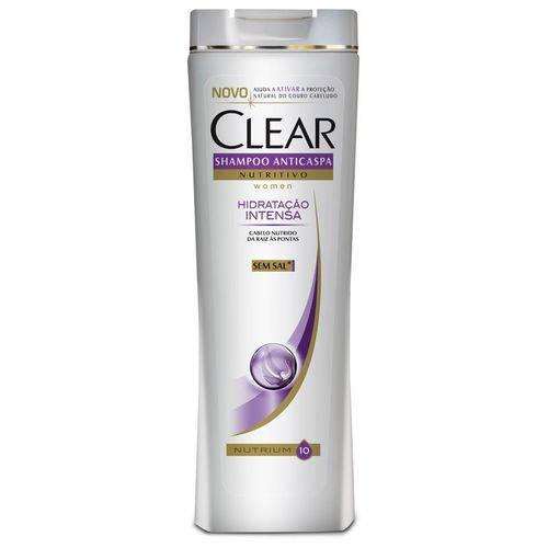 Shampoo Clear Anticaspa Hidratação Intensa 400ml