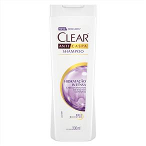 Shampoo Clear Hidratação Intensa - 200Ml