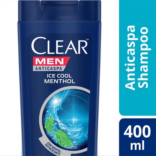 Shampoo Clear Ice Cool Menthol - 400ml
