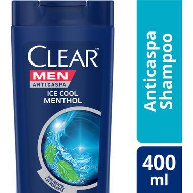 Shampoo Clear Ice Cool Menthol 400ml