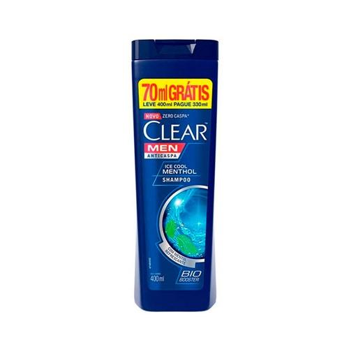 Shampoo Clear Ice Cool Menthol Preço Especial 400ml