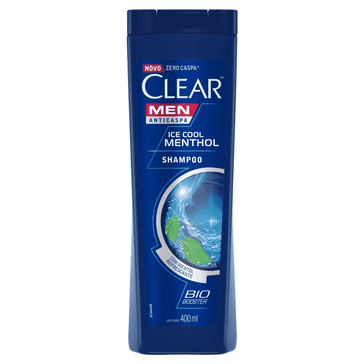 Shampoo Clear Ice Cool Mentol SH CLEAR ICE COOL MENTOL 400ML