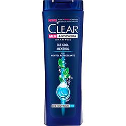 Shampoo Clear Men Anticaspa Ice Cool Menthol 200ml