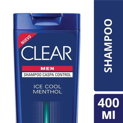 Shampoo Clear Men Ice Cool Menthol 400 Ml