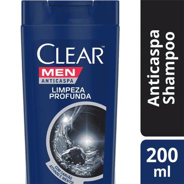 Shampoo Clear Men Limpeza Profunda SH CLEAR MEN LIMPEZA PROFUNDA 200ML