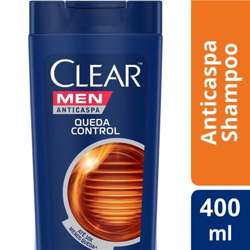 Shampoo Clear Men Queda Control 400ml