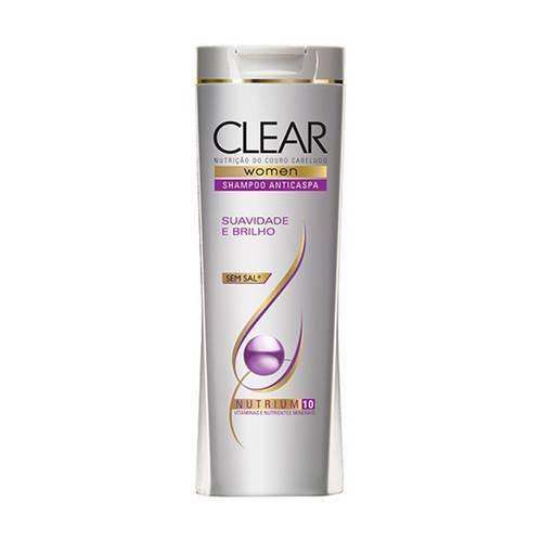Shampoo Clear Women Hidratação Intensa com 400 Ml