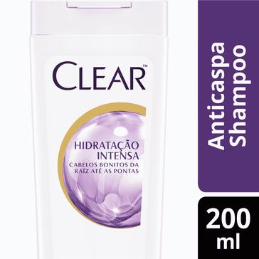 Shampoo Clear Women Hidratação Intensa SH CLEAR WOMEN HIDRAT INTENSA 200ML