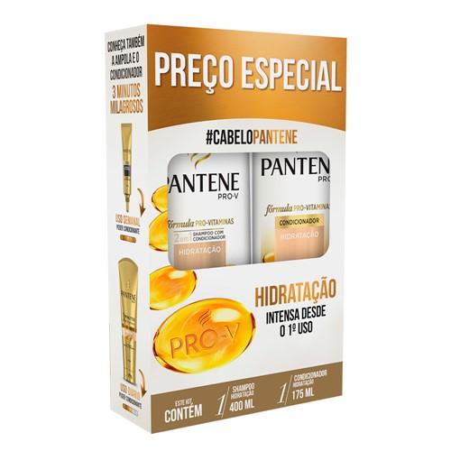 Shampoo + Condicionador Pantene Hidratação 400ml+175ml Preço Especial