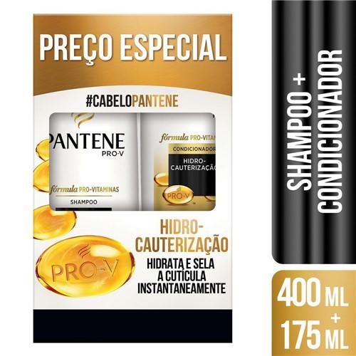 Shampoo + Condicionador Pantene Hidro-Cauterização 400ml+175ml Preço Especial