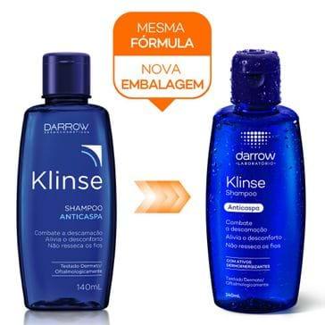 Shampoo Anticaspa Klinse 140ml