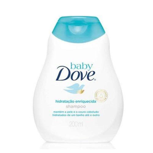 Shampoo Dove Baby Hidratação Enriquecida 200ml