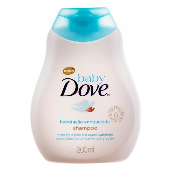 Shampoo Dove Hidratação Enriquecida Baby 200Ml