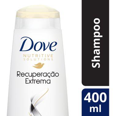 Shampoo Dove Recuperacão Extrema 400ml