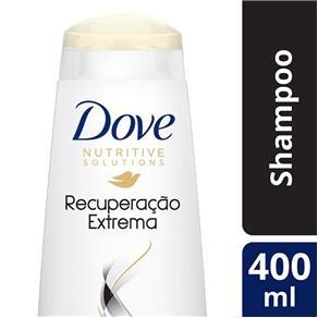 Shampoo Dove Recuperação Extrema para Cabelos Danificados - 400ml