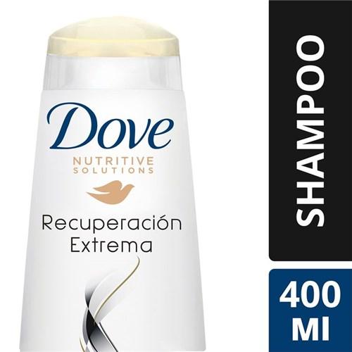Shampoo Dove Recuperación Extrema 400 Ml