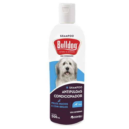 Tudo sobre 'Shampoo e Condicionador Coveli Antipulgas Bulldog para Cães - 500 ML'