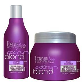 Shampoo e Mascara Matizadorora Platinum Blond
