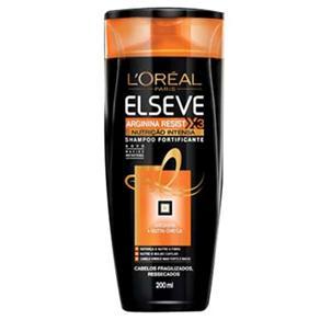Shampoo Elseve Arginina Resist X3 Nutrição Intensa - 200 Ml