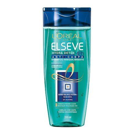 Shampoo Elseve Hydra Detox Anti-Caspa 200ml