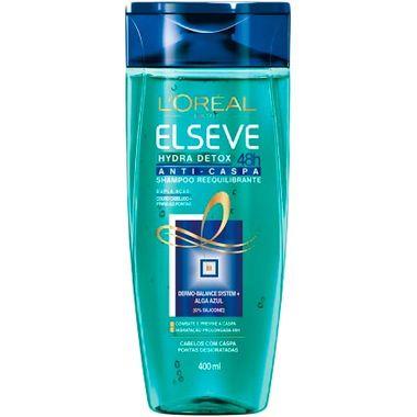 Shampoo Elseve Hydra Detox Zero Caspa 400ml